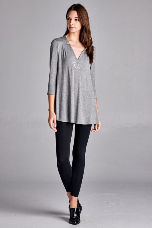Long Sleeve Knit Shirt - besties STUDIOS