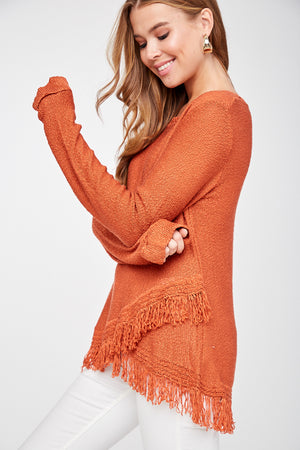 Tassel Sweater - besties STUDIOS