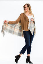 All Wrapped Up Blanket Scarf - besties STUDIOS