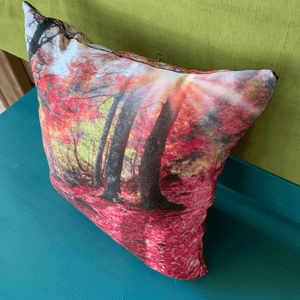 Fall Leaves Accent Pillow - besties STUDIOS