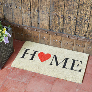 Home is Where the Heart is # rohožka pred dvere