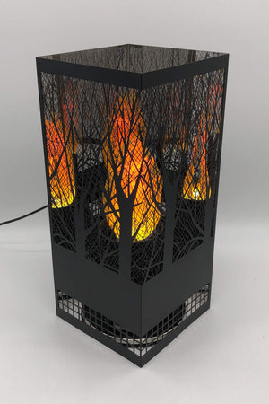 Forest Square Brazier Black