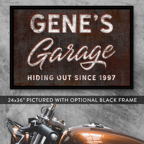 Garage Man Cave Wall Art Gifts For Him