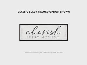 Cherish Every Moment Quote Wall Art Video - Pretty Perfect Studio