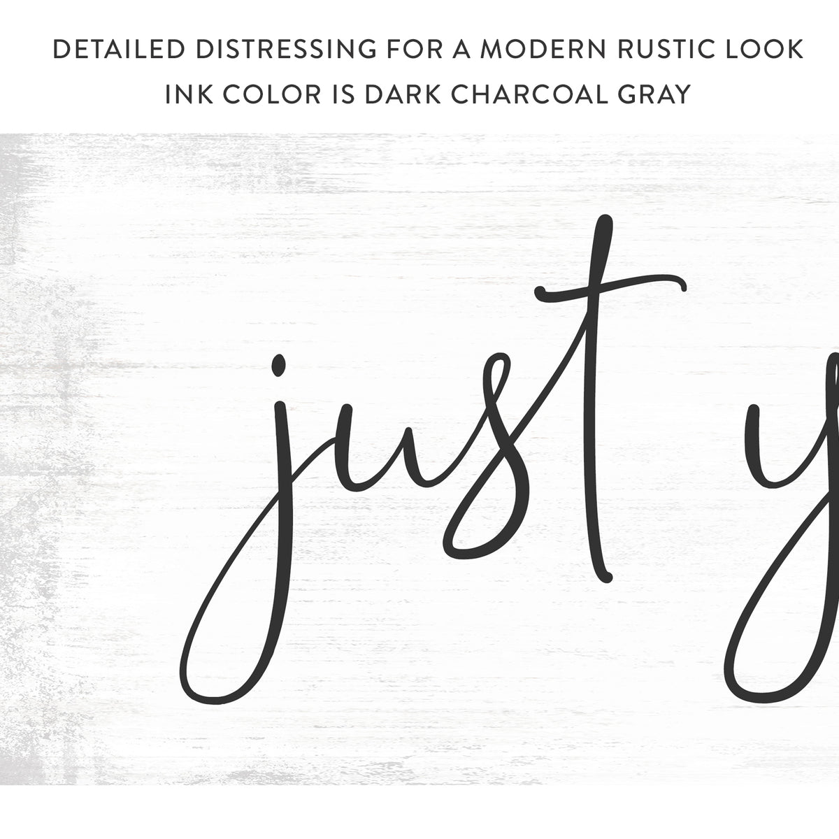 Just You Me And The Cats Canvas Sign - Pretty Perfect Studio