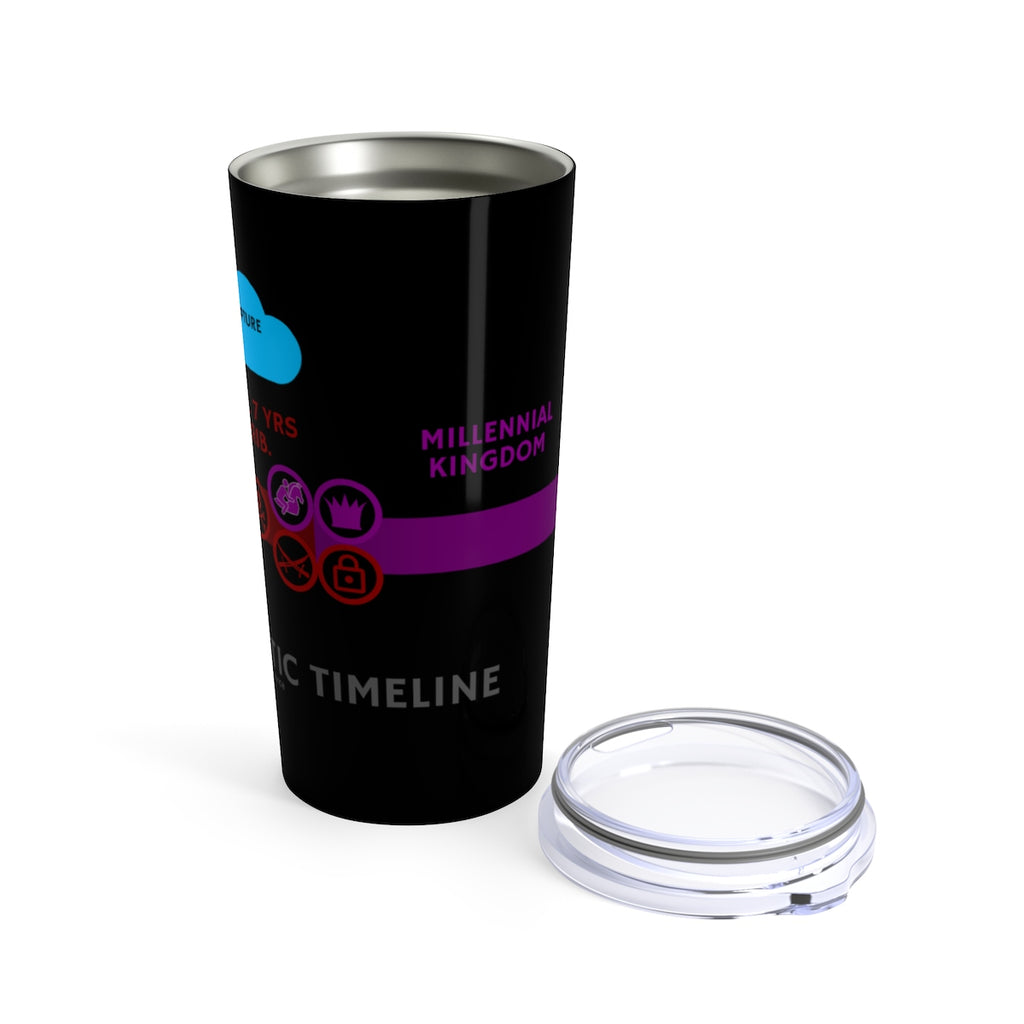 Prophetic Timeline Tumbler 20oz - Prophecy Simplified Series 01