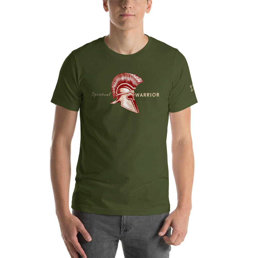 Spiritual Warrior - Spartan - Men's Short-Sleeve T-Shirt