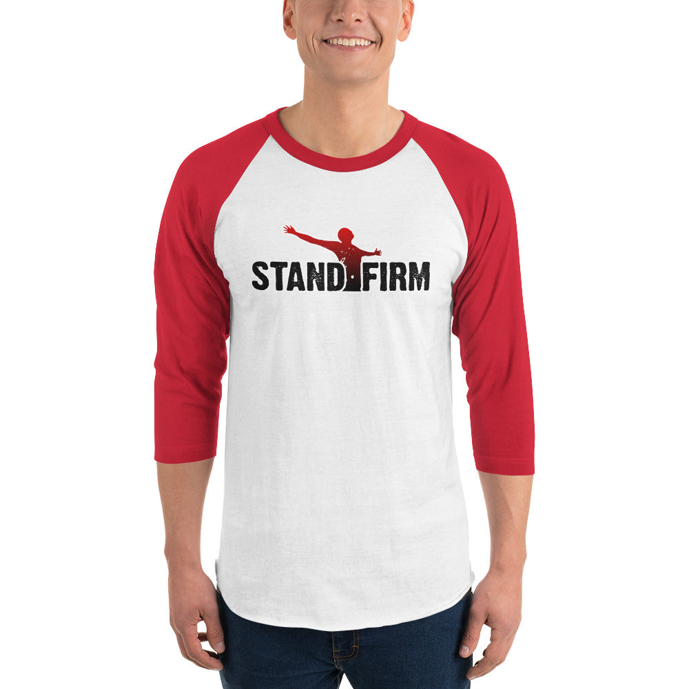 Stand Firm Women's 3/4 sleeve raglan shirt - Stand Firm Series 01