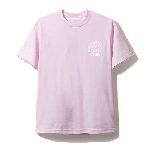 Anit Brexit Brexit Club Tee - Pink