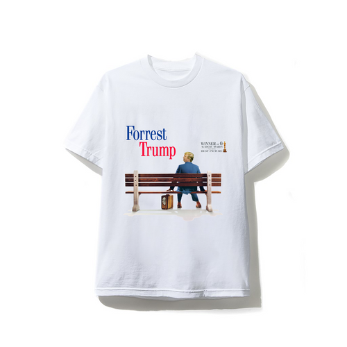 Forest Trump Tee - White