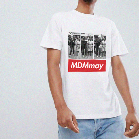 MDMmay Tee - White