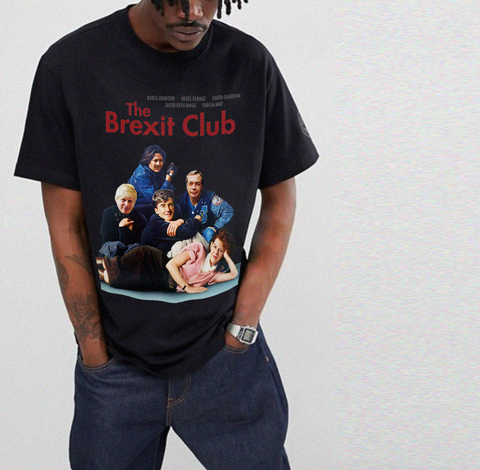 The Brexit Club Tee - Black