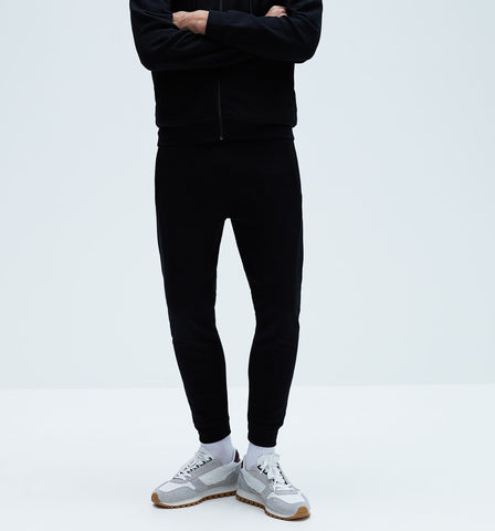 "ZARA MAN SKINNY BASIC JOGGING TROUSER ""BLACK"""