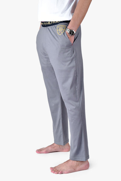 "TOMMY HILFIGER COTTON LOUNGE TROUSER ""STEEL GREY"""