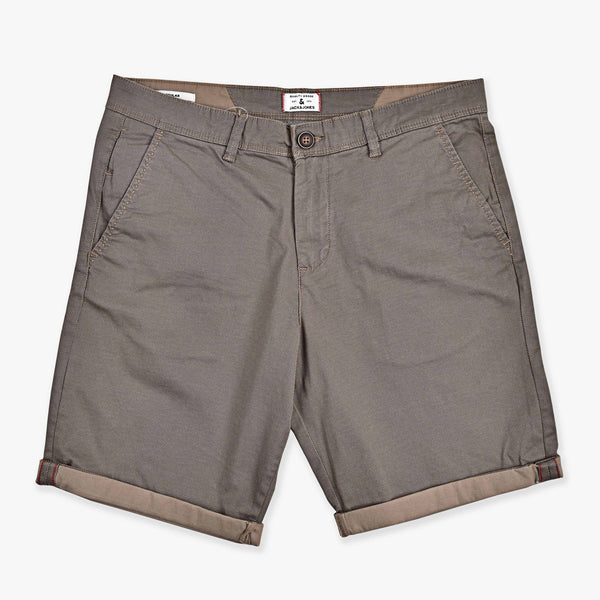 "JACK&JONES PREMIUM COTTON CHINO SHORTS ""BROWN"""