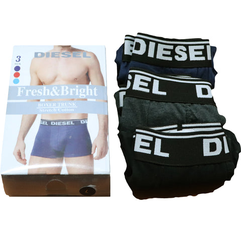 Diesel Pack Of  3 Premium Boxer Shorts