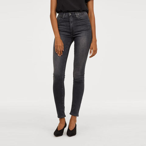 "H&M SKINNY DENIM ""DARK GREY"""