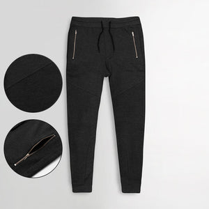 "MAX EXCLUSIVE ZIP POCKET TROUSER ""CHARCOAL"""