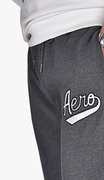 "AEROPOSTALE EMBROIDERED TROUSER ""CHARCOAL"""