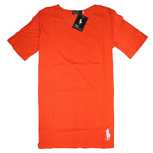 "PRL LONG LENGTH T SHIRT ""ORANGE"""
