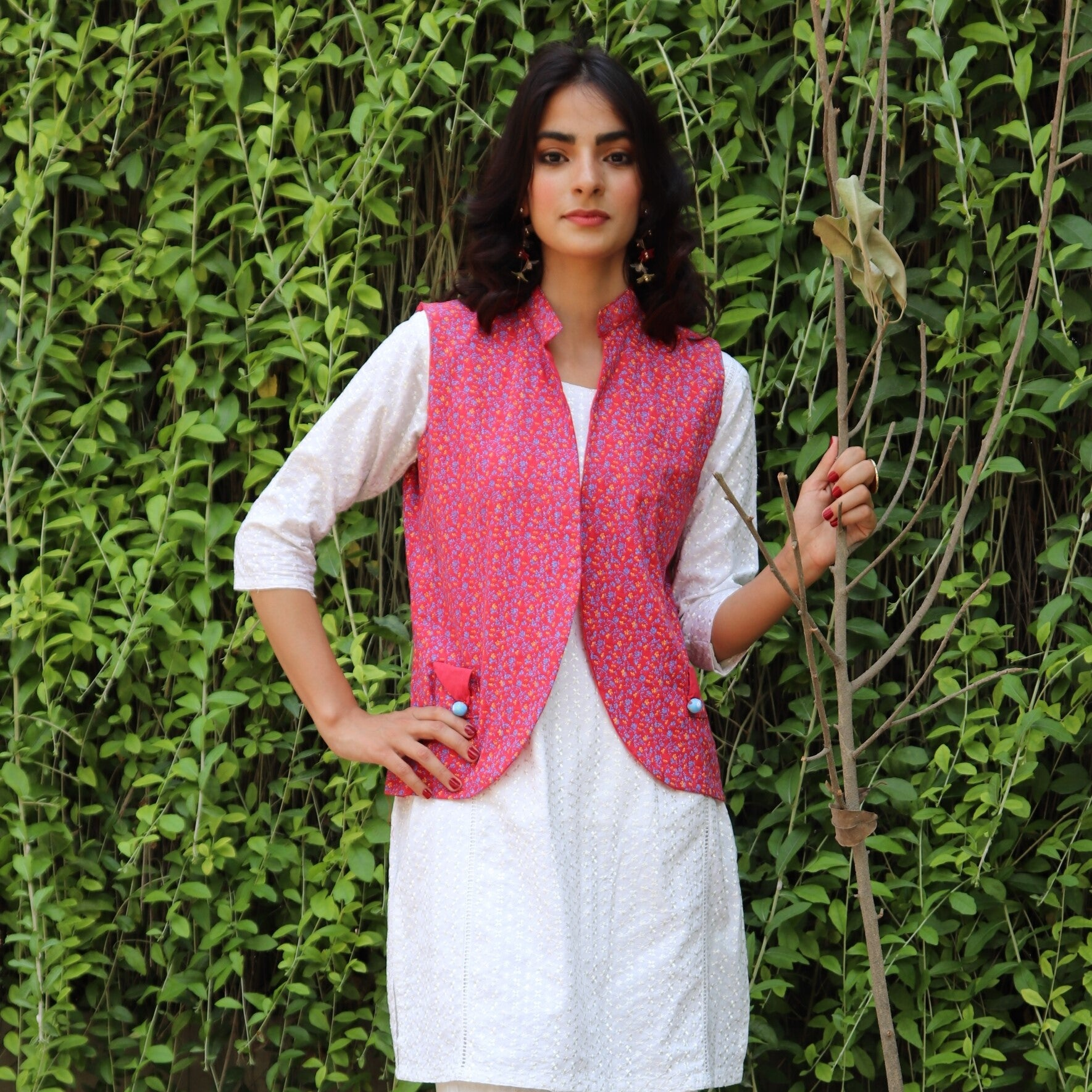 HIMAD WOMEN ROSY WAIST COAT