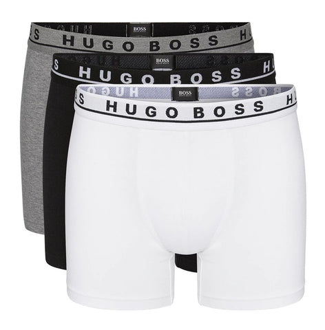 HUGO BOSS PACK OF 3 PREMIUM BOXER BRIEFS