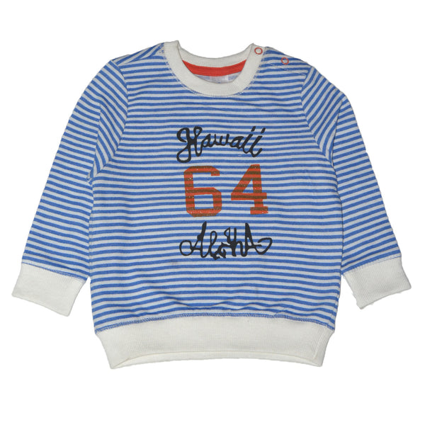 "BABY CLUB HAWAII 64 SWEAT SHIRT ""BLUE"""