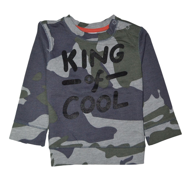 BABY CLUB KING OF COOL PRINTED SWEAT SHIRT