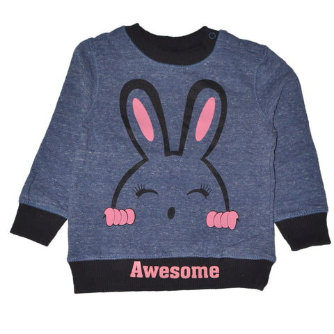 BABY CLUB AWESOME PRINTED SWEAT SHIRT