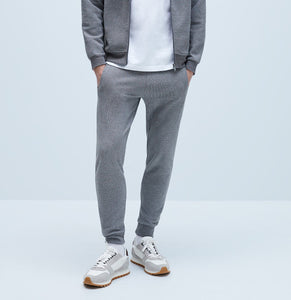 "ZARA MAN SKINNY BASIC JOGGING TROUSER ""GREY """