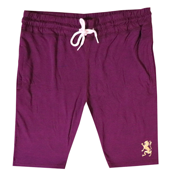 "GD SINGLE JERCY LONG LENGHT SHORTS ""MAROON"""