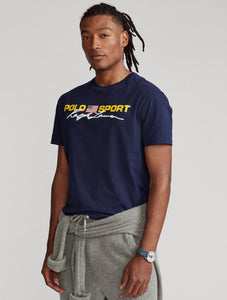 "POLO RALPH LAUREN CLASSIC FIT POLO SPORT T SHIRT ""NAVY"""