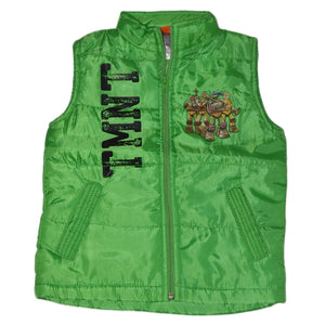 "NICKELODEON SLEEVELESS ZIPPER JACKET KIDS ""TMNT"""