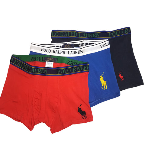 POLO RALPH LAUREN PACK OF 3 PREMIUM BOXERS