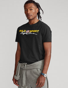 "POLO RALPH LAUREN CLASSIC FIT POLO SPORT T SHIRT ""BLACK"""