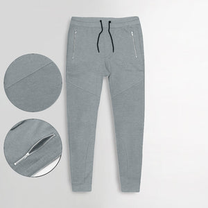 "MAX EXCLUSIVE ZIP POCKET TROUSER ""GREY"""