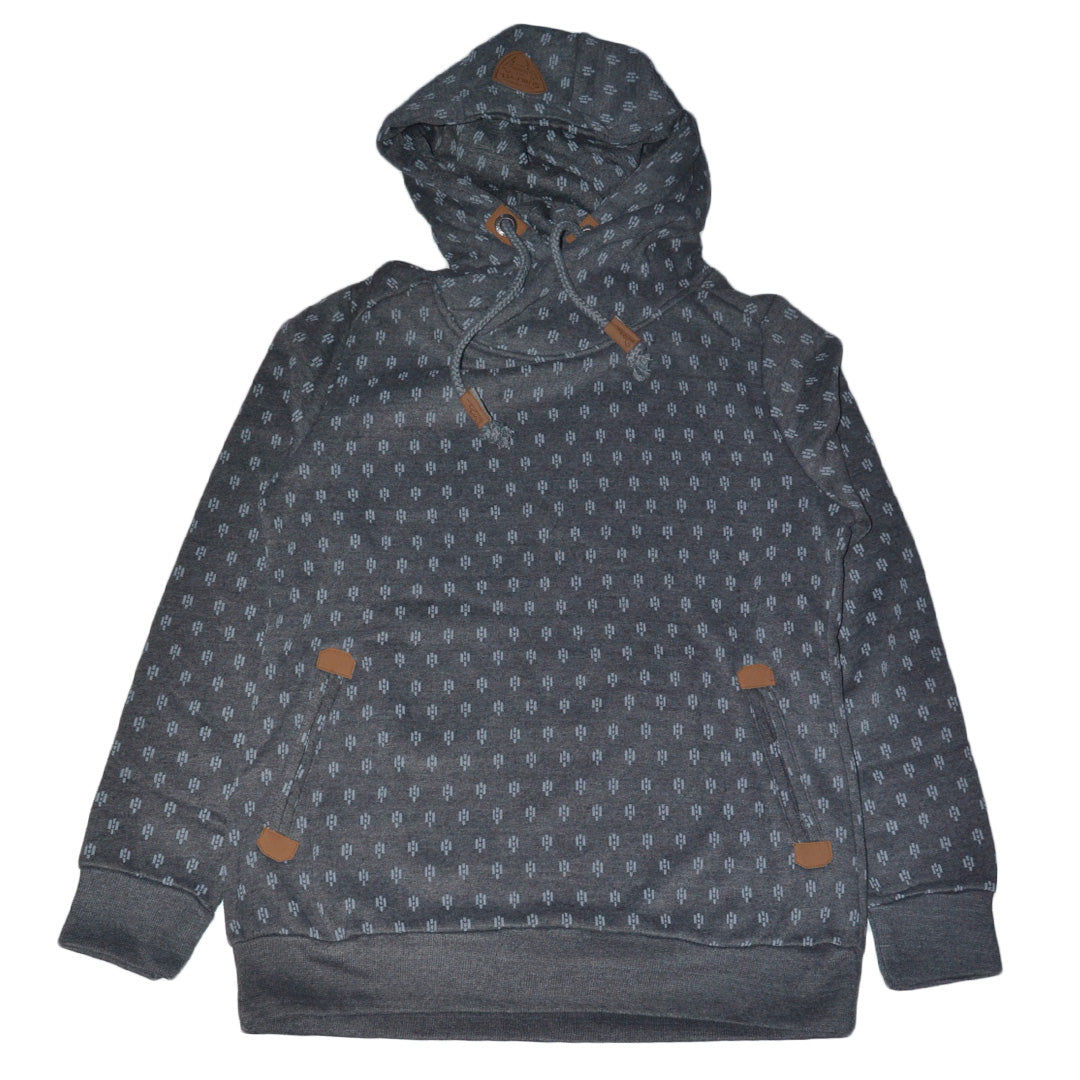 "SUBLEVEL PREMIUM HOODIE WOMEN ""CHARCOAL"""