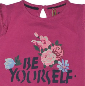 TRIBU BE YOURSELF GIRLS FULL SLEEVE T SHIRT