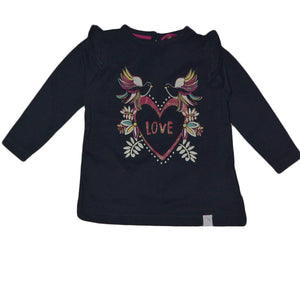 TRIBU LOVE GIRLS FULL SLEEVE T SHIRT