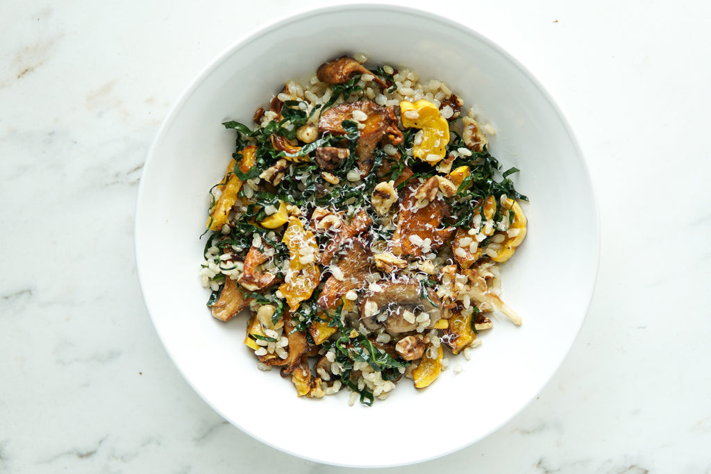 Fall-Inspired Grain Salads