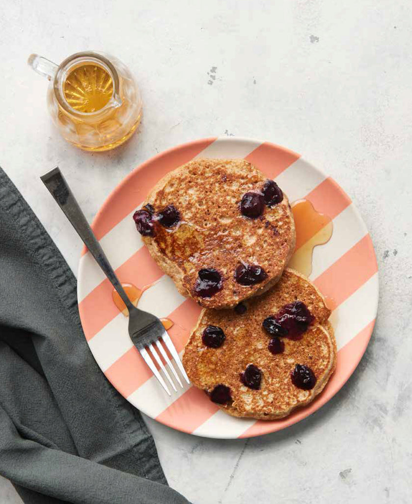 Recipe: Whole Wheat and Flax Pancakes