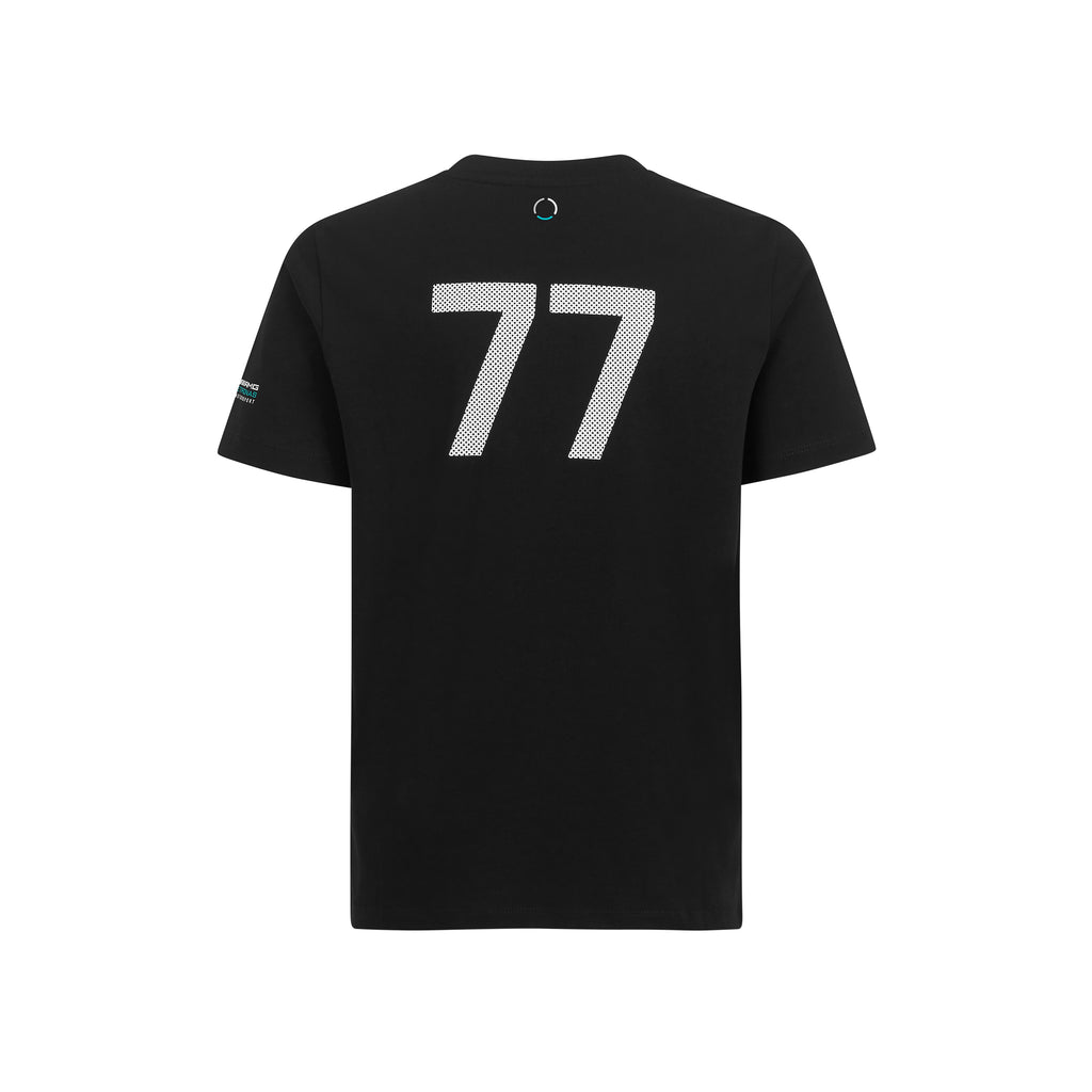 Kid's Mercedes-AMG Petronas Motorsport 2019 F1™ Valtteri Bottas 77 T-shirt Black - Pit-Lane Motorsport