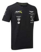 Load image into Gallery viewer, Aston Martin Racing AMR Official Team Childrens T-shirt Black - Pit-Lane Motorsport