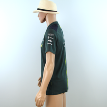 Load image into Gallery viewer, Ex-Mechanics Aston Martin Racing AMR Polo Shirt Dark Green 2018 - Pit-Lane Motorsport