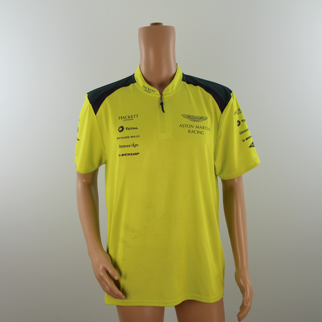 Aston Martin Racing Official Team Polo Shirt Lime Green-  2015 - Pit-Lane Motorsport
