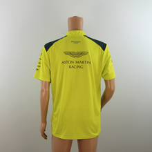 Load image into Gallery viewer, New Aston Martin Racing Official Team Polo Shirt Lime Green-  2015 - Pit-Lane Motorsport