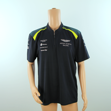 Load image into Gallery viewer, Used Aston Martin Racing Official Team Polo Shirt Dark Blue - 2017 - Pit-Lane Motorsport