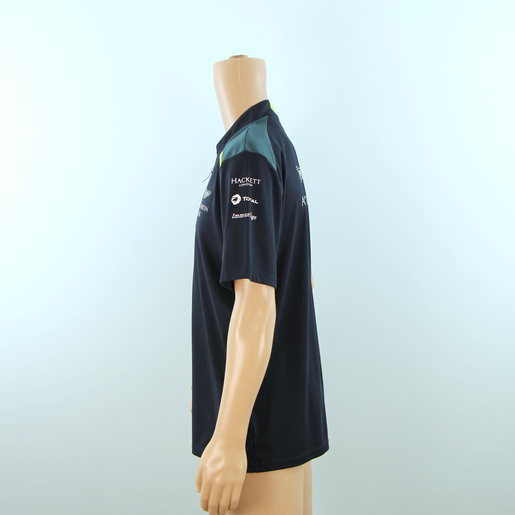 New Aston Martin Racing Official Team Polo Shirt Dark Blue - 2017 - Pit-Lane Motorsport