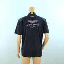 Load image into Gallery viewer, New Aston Martin Racing Official Team Polo Shirt Dark Blue - 2017 - Pit-Lane Motorsport