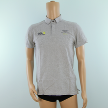 Load image into Gallery viewer, Used Aston Martin Racing 95-5 Racing Series Hackett Team Polo Shirt Grey - Pit-Lane Motorsport